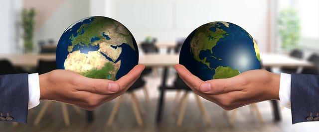 dvě zeměkoule