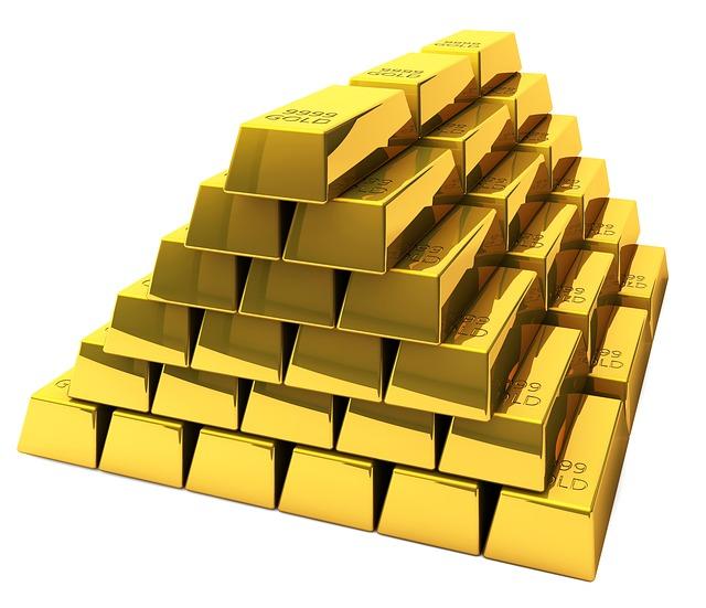 pyramida ze zlata