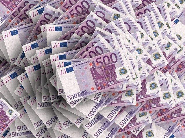 500eurové bankovky